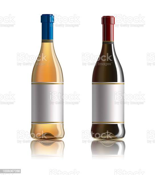 Red wine bottle set of white rose and red wine bottles isolated on vector id1006067266?b=1&k=6&m=1006067266&s=612x612&h=tillxdhhdgvjggt2n9lieti2k6nl3uv4iaoav20tjhw=