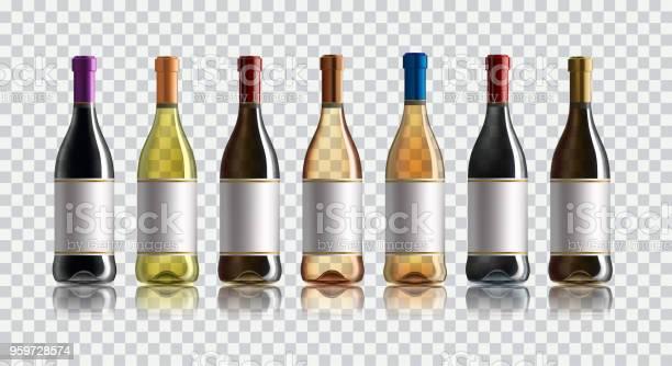 Red wine bottle set of white rose and red wine bottles isolated on vector id959728574?b=1&k=6&m=959728574&s=612x612&h=dwwnh2ypoqcr0zegbor9n6brp9e ve59zcviomkpth4=