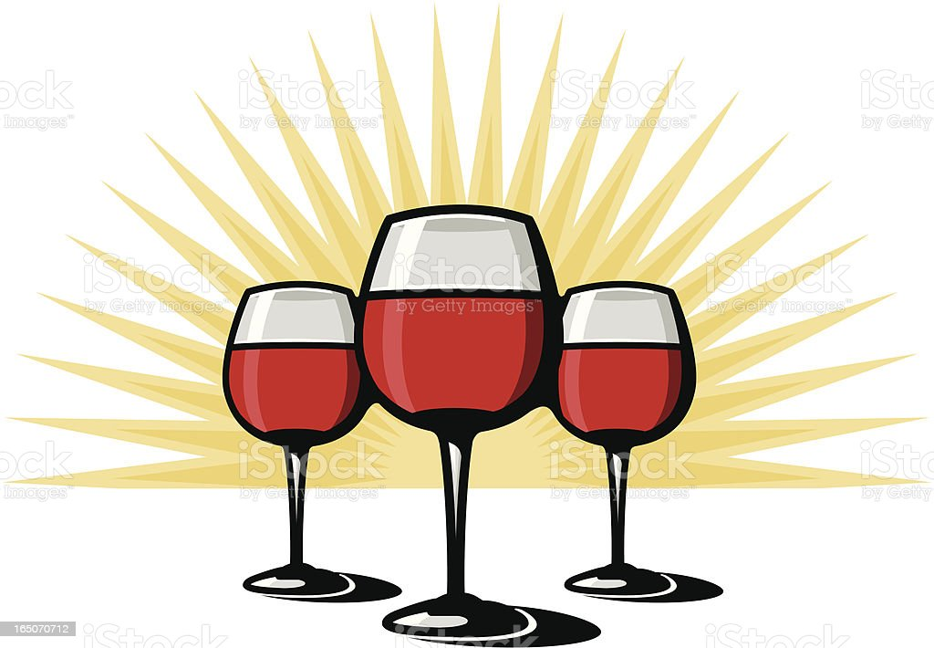 Red Wine royalty-free red wine stock vector art & more images of after work