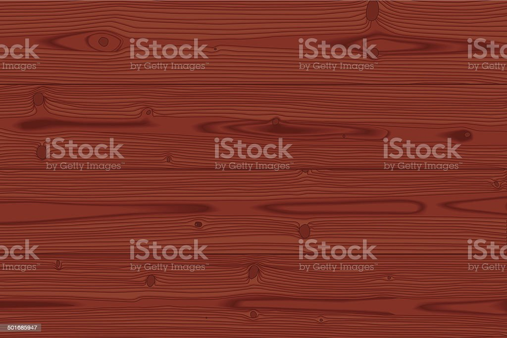 Red wood background vector art illustration