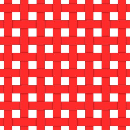 紅色編織纖維無縫模式向量圖形及更多傳統圖片