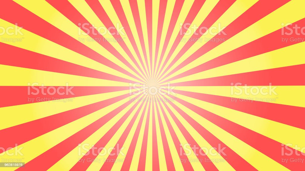 Vintage abstract background with rays. Bright colors Vector EPS10