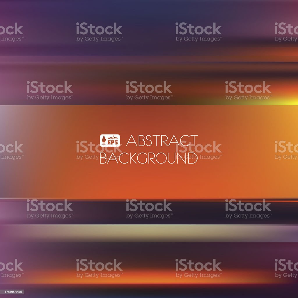 Red-Orange Abstract Striped Background. royalty-free stock vector art