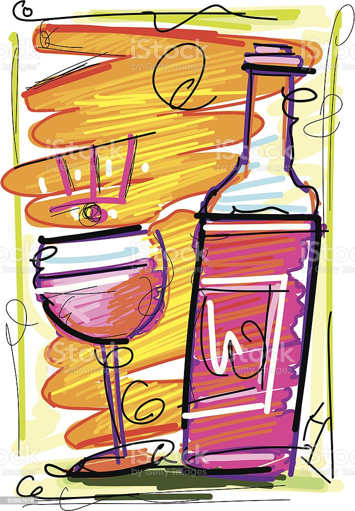 redwine royalty-free redwine stock vector art & more images of alcohol