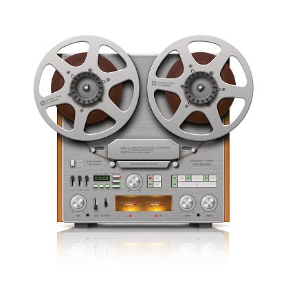 Reel-to-reel Audio Tape Recorder