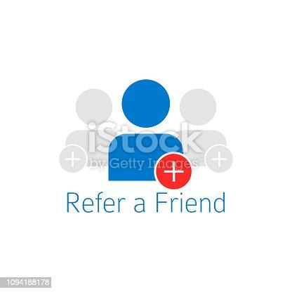 istock Refer a friend icon 1094188178