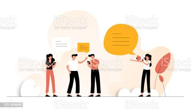 Refer Friend Concept Vector Illustration Flat Modern Design For Web Page Banner Presentation Etc Stock Illustration - Download Image Now