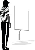 Referee Blowing The Whistle