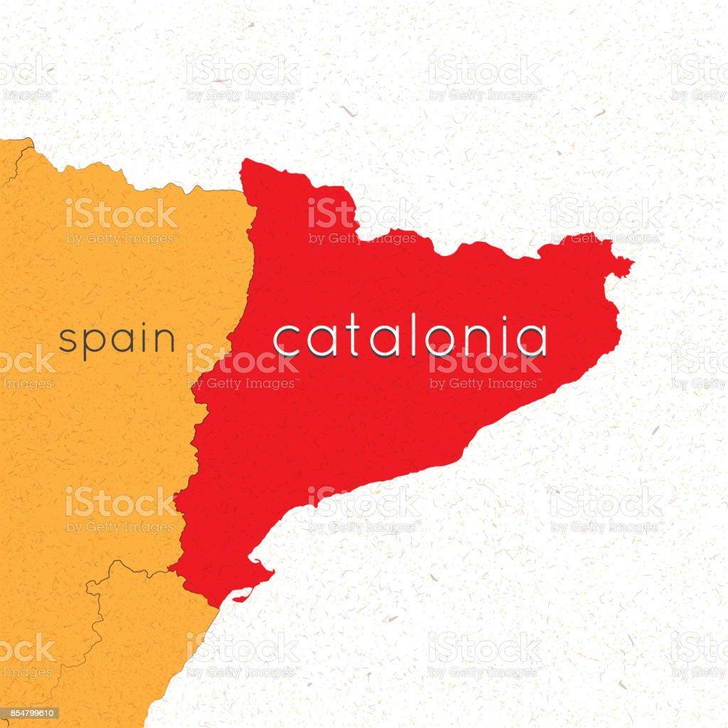Spanien Katalonien Karte.Referendum In Spanien Unabhangiges Katalonien Eine Wolke Aus