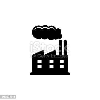 istock Refinery icon. Oil an gas icon elements. Premium quality graphic design icon. Simple icon for websites, web design, mobile app, info graphics 960531516