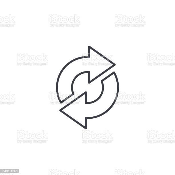 Refresh arrows sync exchange thin line icon linear vector symbol vector id843196922?b=1&k=6&m=843196922&s=612x612&h=03nvrazm0e08km2fe8cktlnzt3y57zwizxlearroaha=