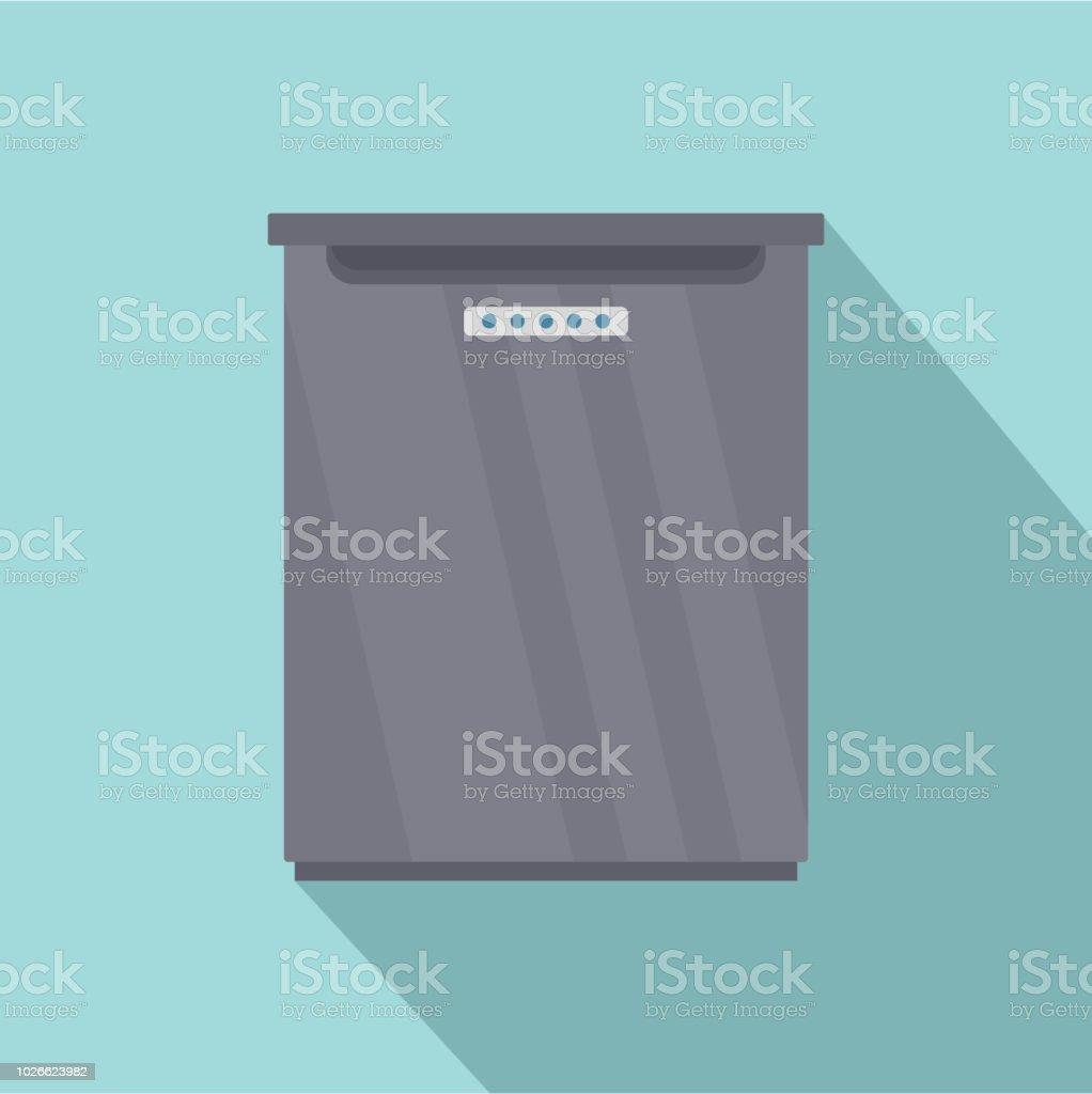 Ícone de frigorífico, estilo simples - ilustração de arte em vetor