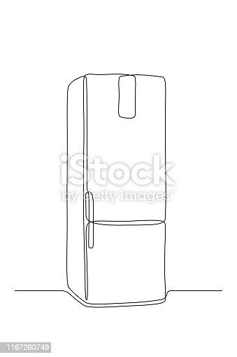 istock Refrigerator 1167260749