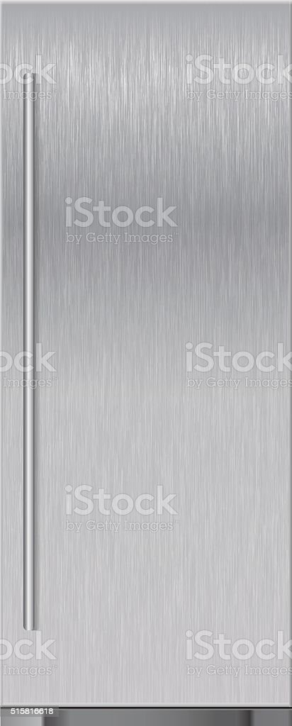 Refrigerator. Vector illustration isolated on white background vector art illustration