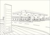 istock Refueling Station Sketch 452186437