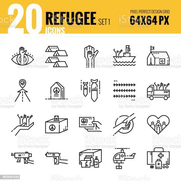 Refugee and immigration icon set 1 vector id855690346?b=1&k=6&m=855690346&s=612x612&h=cr2tvoaaujxzv55s8smkd41eojluxeolzdww8vz4p0m=