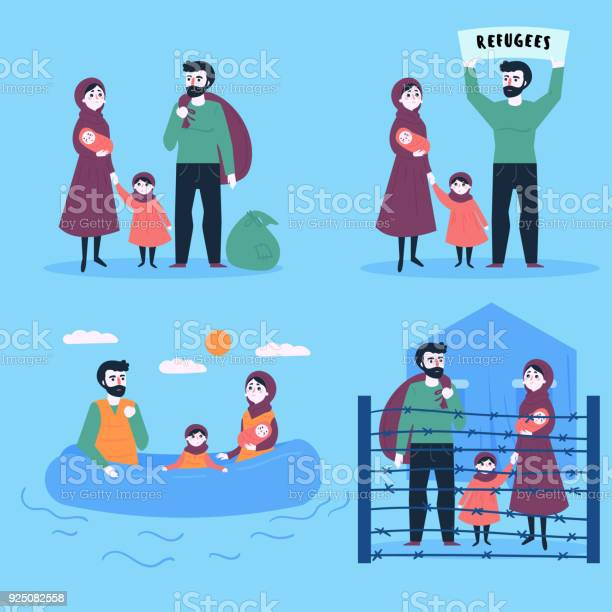 Refugee family with child and small baby vector id925082558?b=1&k=6&m=925082558&s=612x612&h=fltgly7dli4ortfm41pm1bbe8zd7fgh2nofnbcjdytg=