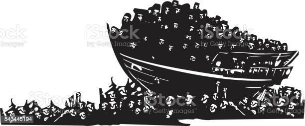 Refugees at sea vector id543445194?b=1&k=6&m=543445194&s=612x612&h=ic8qpf epq96kmcjzak9zfp4zimxphmlkwkxdkoarny=