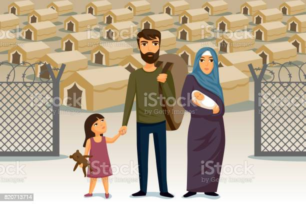 Refugees infographic social assistance for refugees arab family vector id820713714?b=1&k=6&m=820713714&s=612x612&h= azjblrfqy38oas s48kctqxk52kvm74rettf5qhfsi=