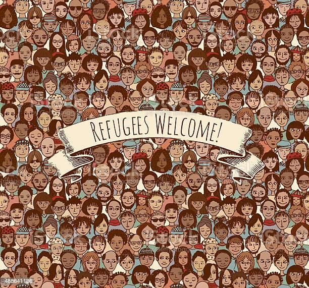 Refugees welcome vector id488641136?b=1&k=6&m=488641136&s=612x612&h=ppi2gxnjpubfi79cjocpbxikyf2pshkp48krnjgj130=