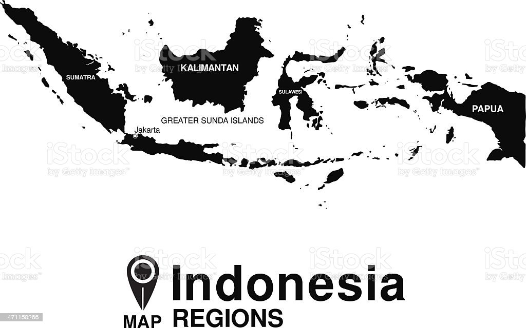 Regions map of indonesia stock vector art more images of 2015 regions map of indonesia royalty free regions map of indonesia stock vector art amp gumiabroncs Image collections