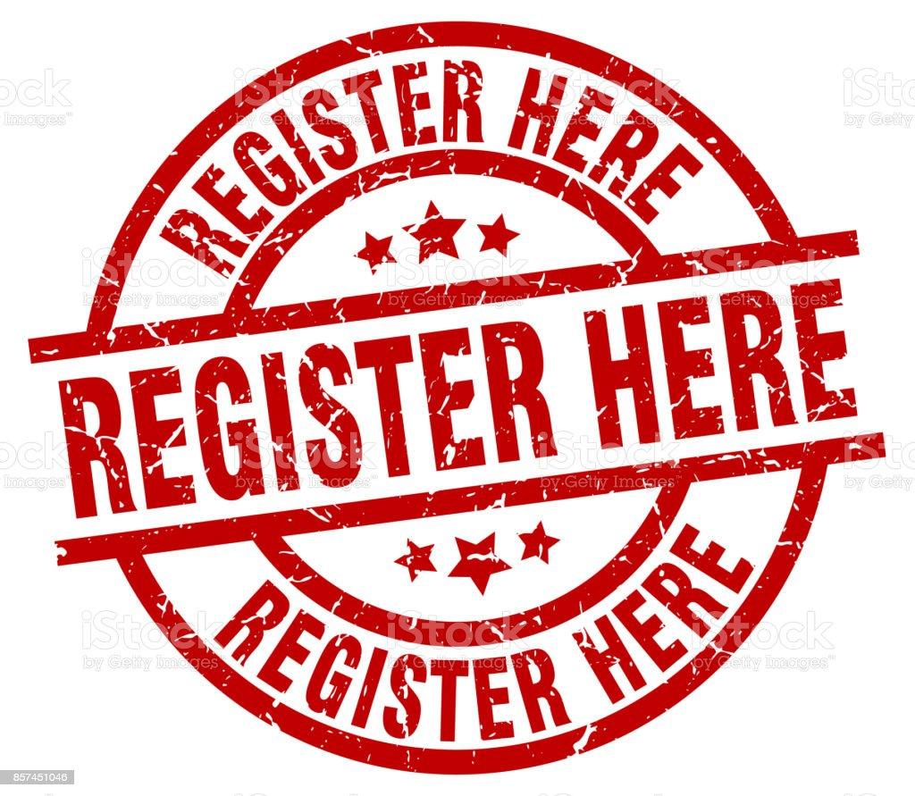 Hier registrieren