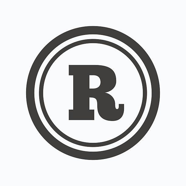 Royalty Free Registered Trademark Clip Art Vector Images