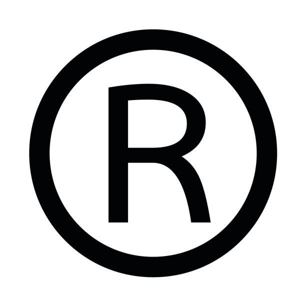 Royalty Free Registered Trademark Symbol Clip Art Vector Images