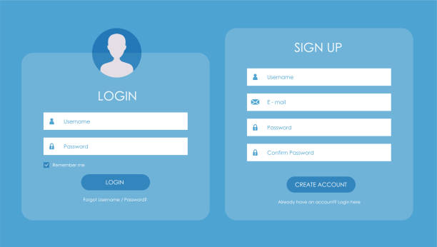 Sign Up Page Template from media.istockphoto.com