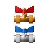 Regulation valve illustration.