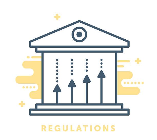 Regulations and Governance vector art illustration
