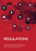 Regulations. Brochure Template Layout, Cover Design