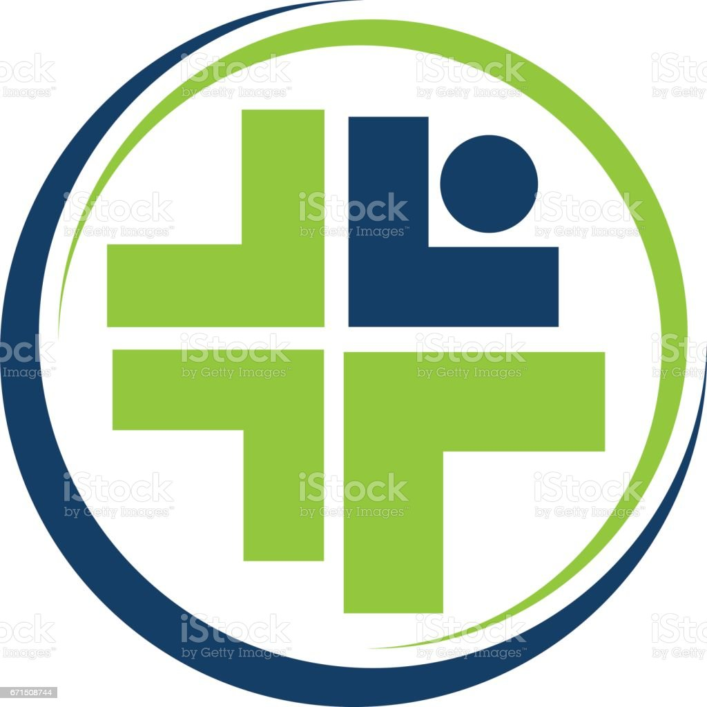 Rehabilitation Health Care vector art illustration