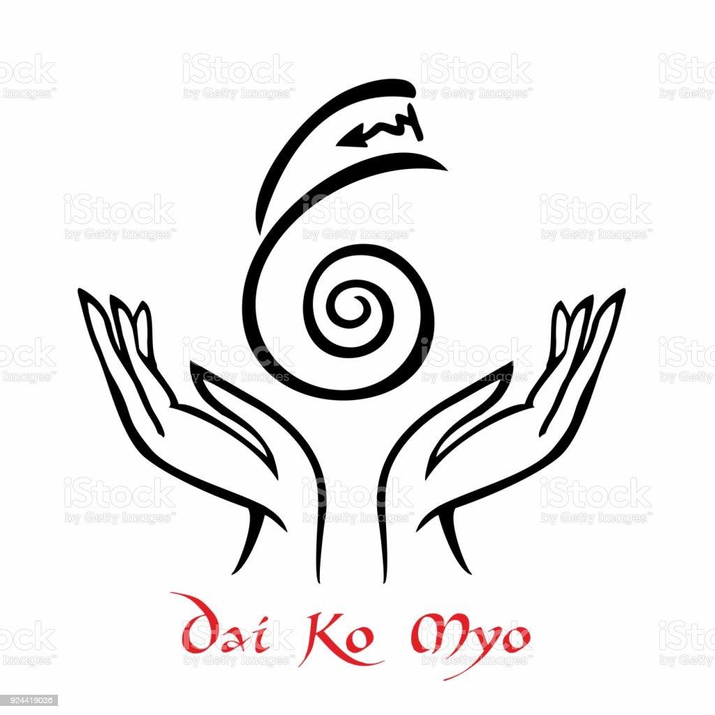 Reiki Symbol A Sacred Sign Dai Ko Myo Spiritual Energy Alternative