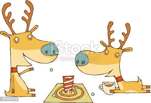 istock Reindeer Games 97404225