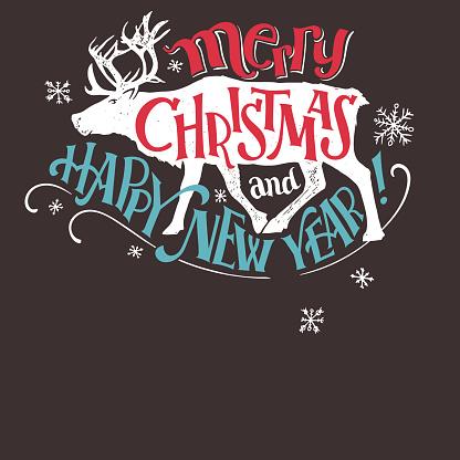 Reindeer sleigh rides signboard
