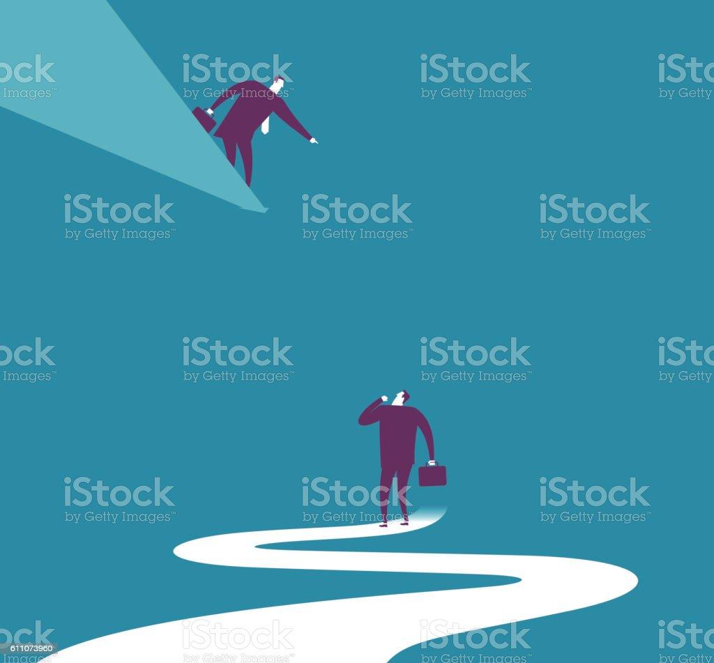Relationship - Guide vector art illustration