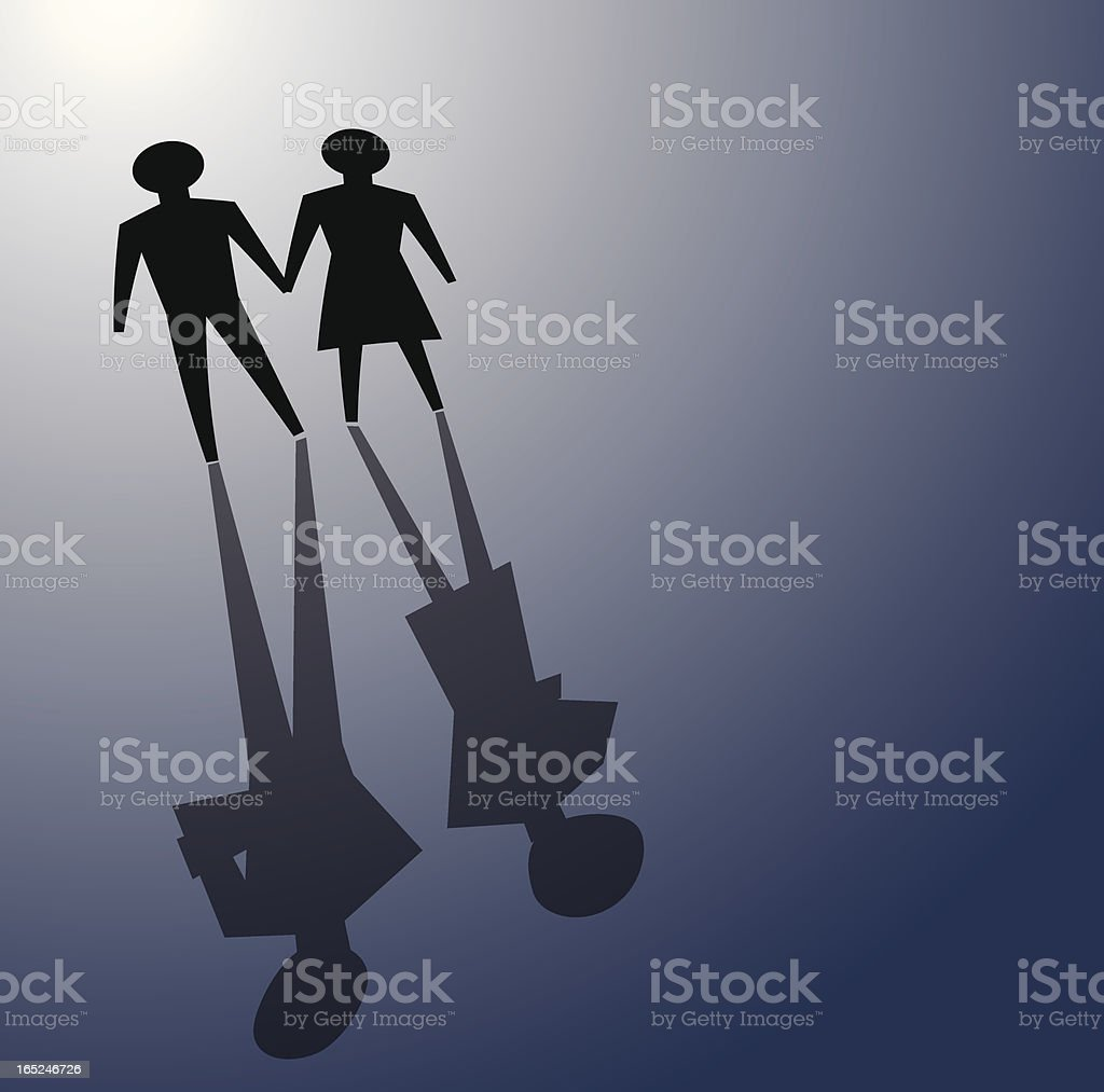 relationship problem royalty-free stock vector art