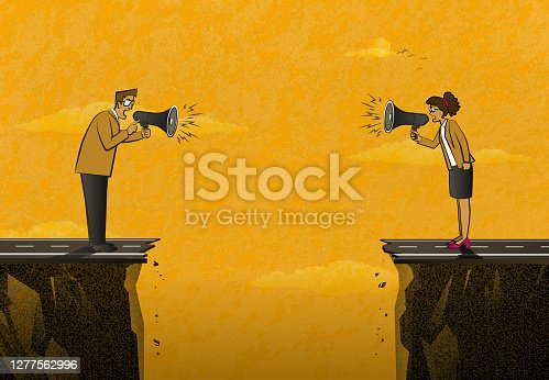 istock Relationship Problems Between Woman and Man 1277562996