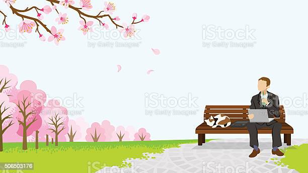 Relax businessman among the cherry trees eps10 vector id506503176?b=1&k=6&m=506503176&s=612x612&h=ygpplwt41agoljpd 6xjzvl yzudlaqbj7cs5jszfka=