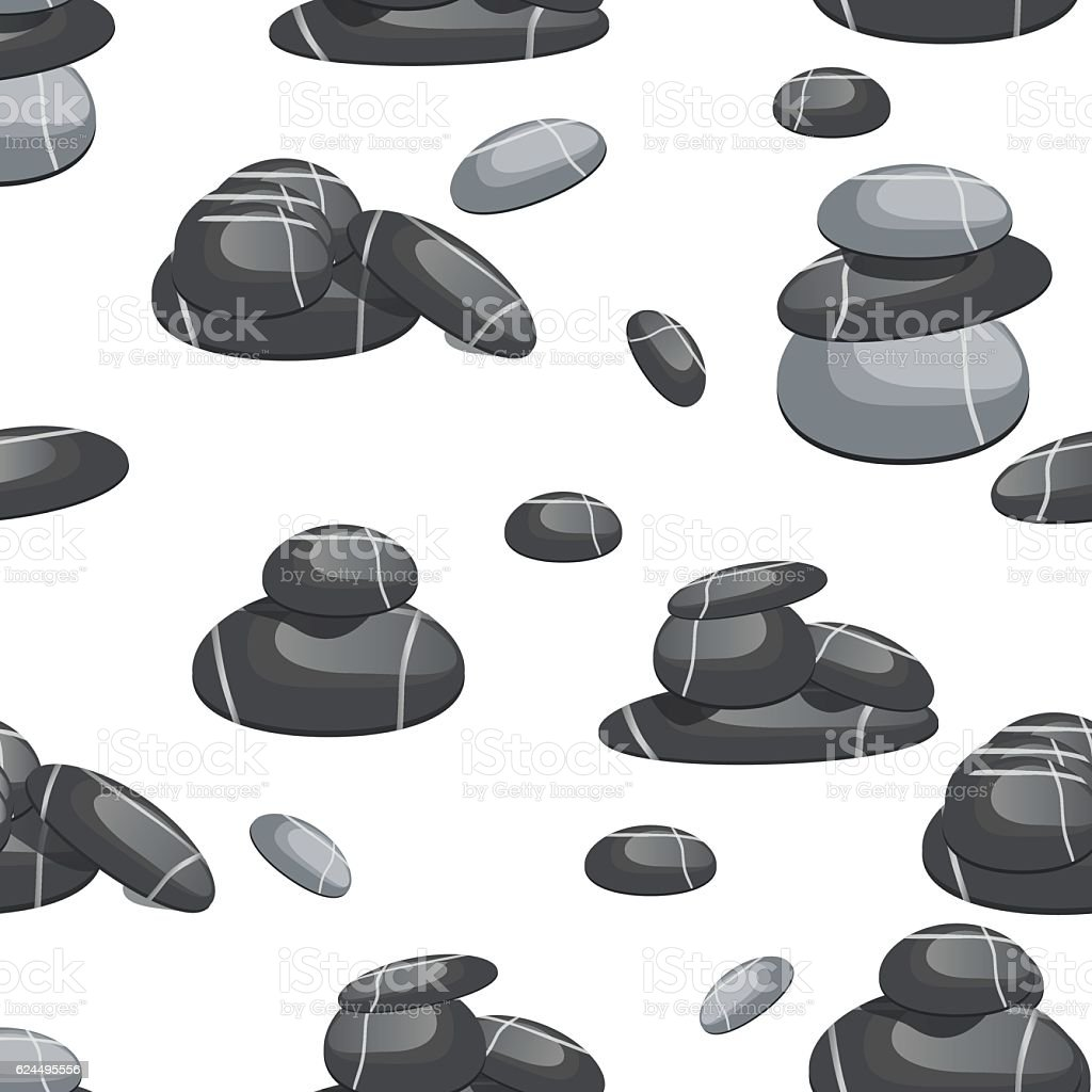 Relax Stone: Relax Stone Seamless Pattern Vector 강에 대한 스톡 벡터 아트 및 기타