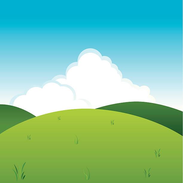 リラックス。 - 草原点のイラスト素材/クリップアート素材/マンガ素材/アイコン素材