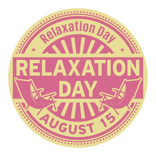 放鬆日, 8月15日 - 國家名勝 幅插畫檔、美工圖案、卡通及圖標