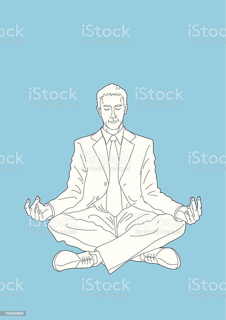 Relaxation royalty-free stock vector art