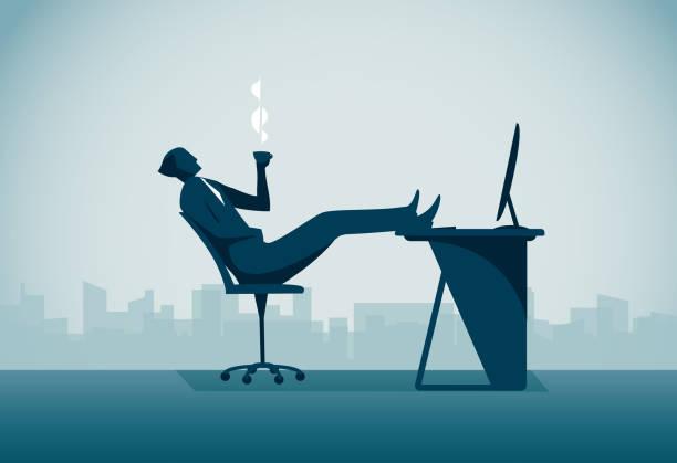 illustrazioni stock, clip art, cartoni animati e icone di tendenza di relaxation - facilità