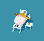 Vector illustration - Relaxing