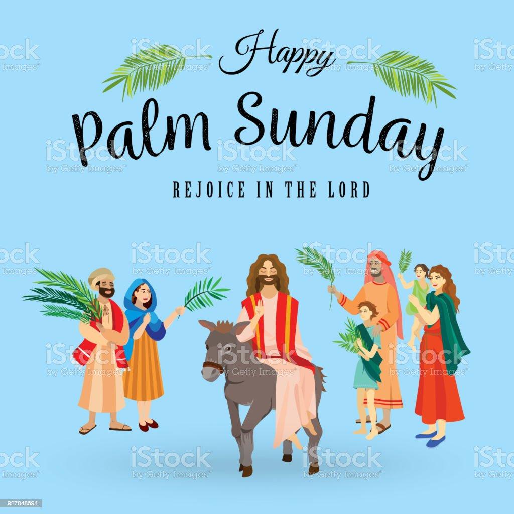 Religion holiday palm sunday before easter celebration of the religion holiday palm sunday before easter celebration of the entrance of jesus into jerusalem m4hsunfo