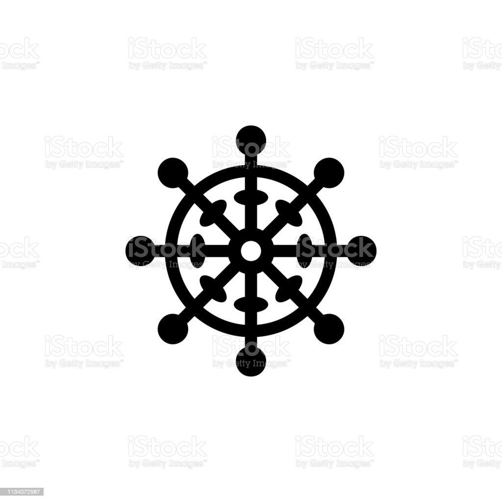 religion symbol, Buddhism icon. Element of religion symbol...