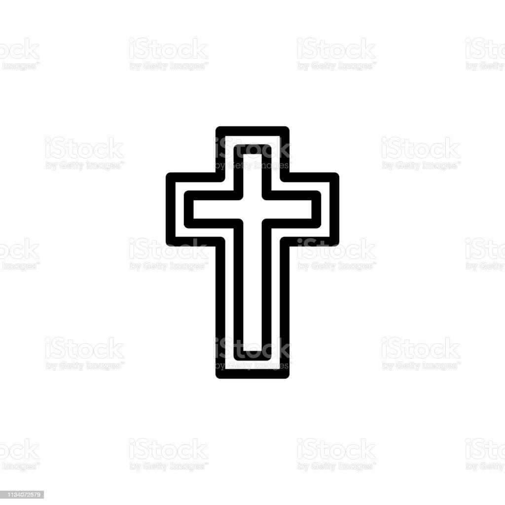 religion symbol, Catholicism icon. Element of religion symbol...