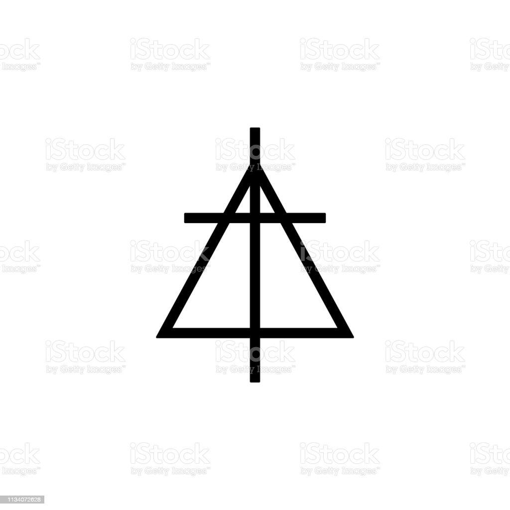 religion symbol, Christian reformed church icon. Element of religion...